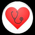 Cardiac diagnosis (arrhythmia) icon