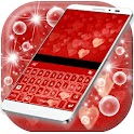 Neon Hearts Keyboard Theme icon