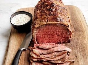 Stupid-simple Roast Beef With Horseradish Cream Recipe