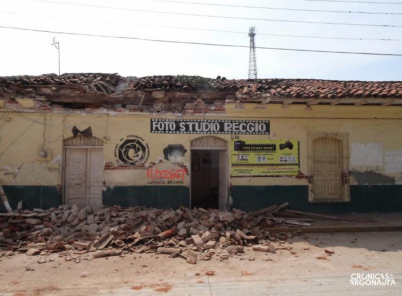 Temblor en Oxaca