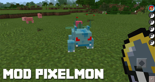 Mod Pixelmon for MCPE for PC