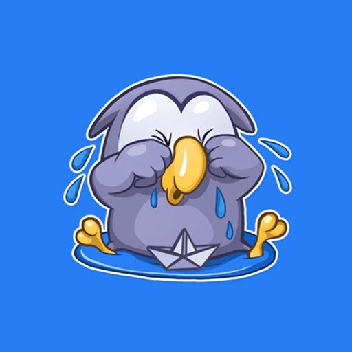 Funky Owl Emoji Stickers For Whatsapp