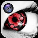 Real Sharingan Eye Lens Editor icon