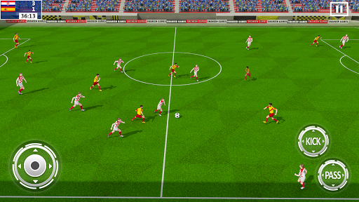 Ultimate Kick Soccer League Football Hero NFL 2019 Screenshots 8
