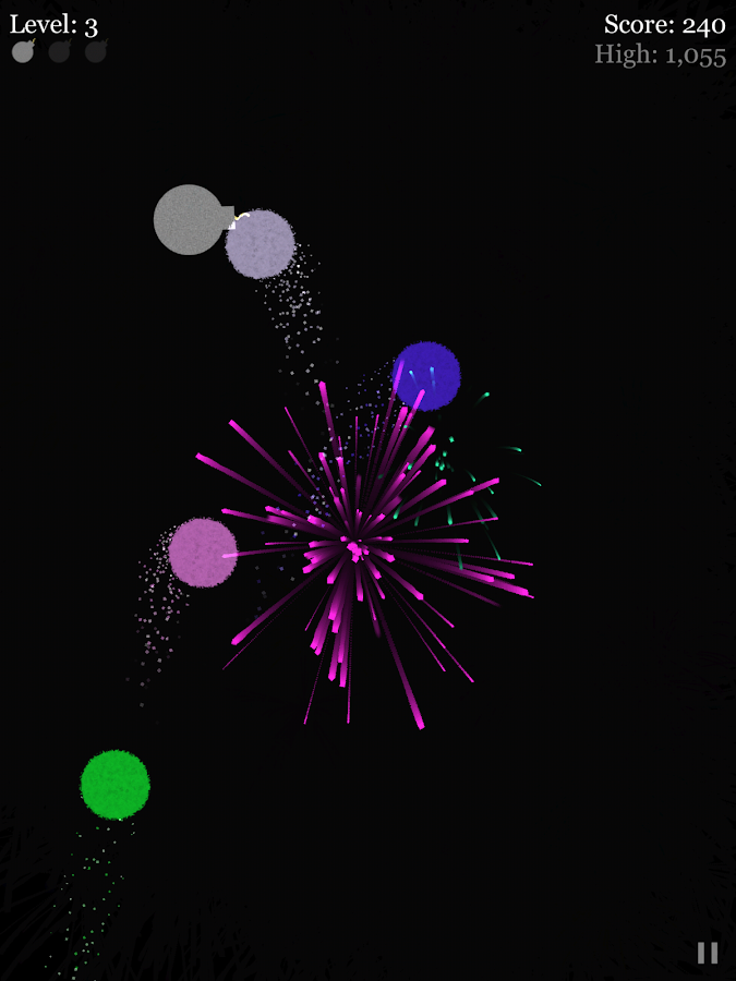 Fireworks Arcade- screenshot