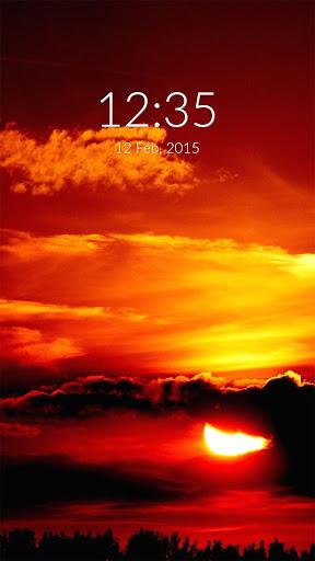 Sunset Wall Lock