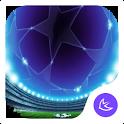 Cool free glow soccer APUS stylish sport theme icon
