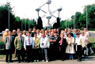 Photo: Mecklenburger besuchen das Atomium in Brüssel Dr. Kindermann, Uwe Lasch