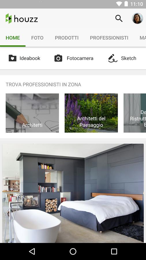 Houzz idee per la tua casa app android su google play for App per arredare