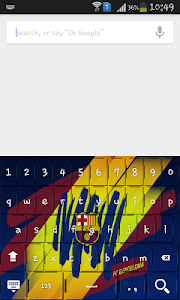 Football logo club Keyboard screenshot 4