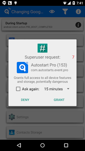 Autostart Pro(Event Finder) for PC