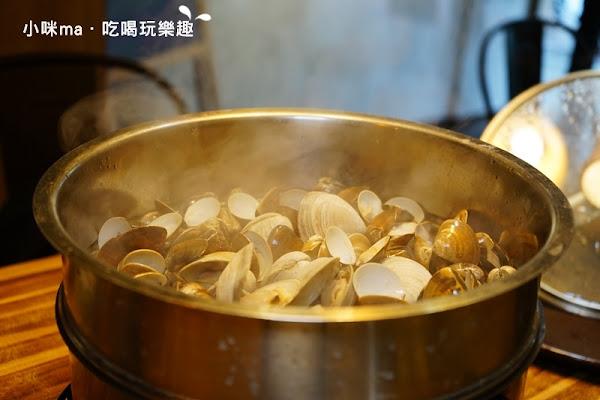 極蜆鍋物。2斤半蛤蜊+牛奶貝 澎派蜆精鍋無料大升級。鍋底熬成松露蜆粥 鮮美度破表。一鍋讓你精、氣、神都傳便便。松山區鍋物