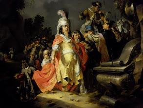 Photo: Troy - Painting of Alexander by Aert Jansz. van Marienhof (ca 1626 - ca 1651)