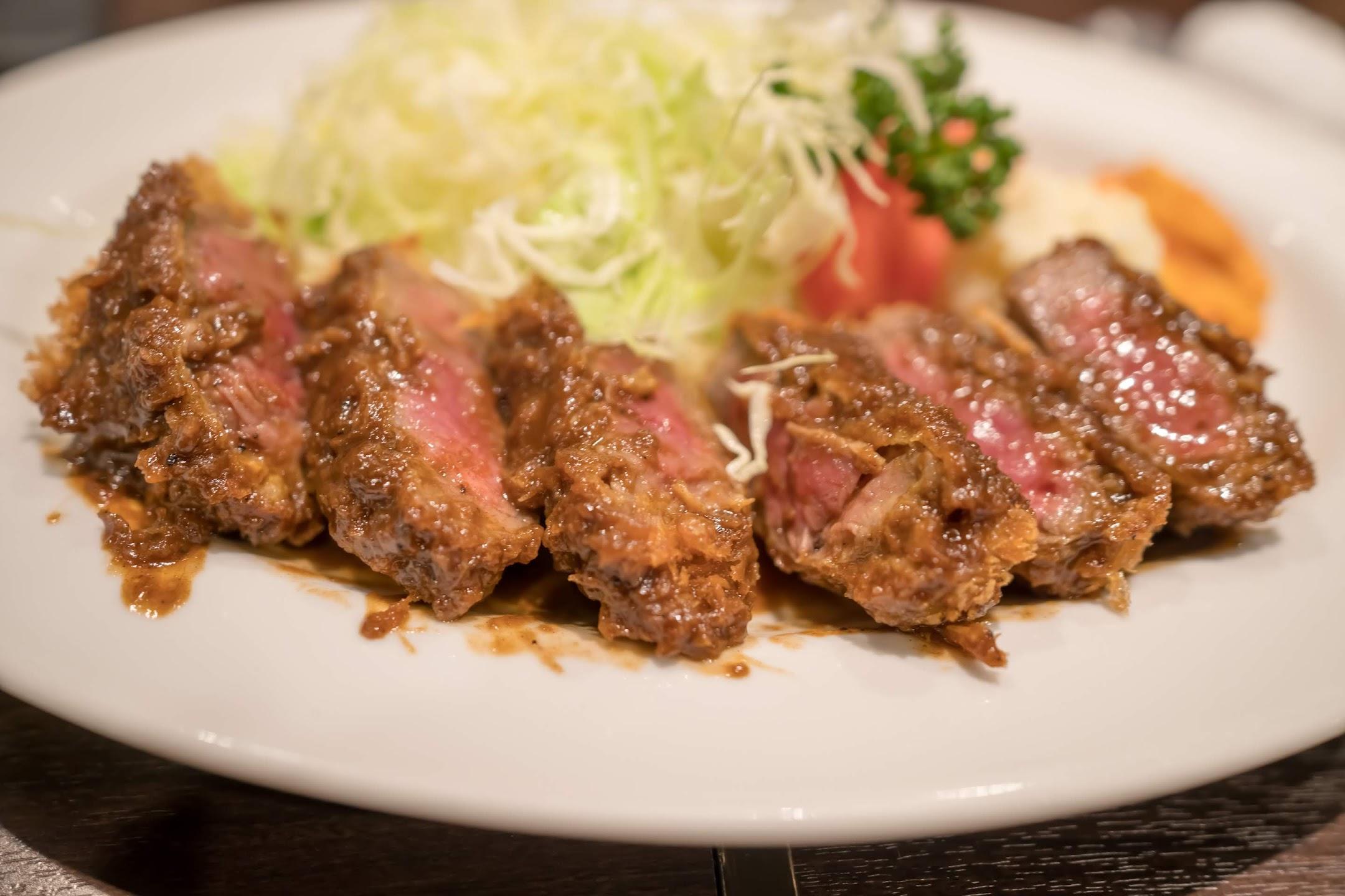 Kobe Grill Ippei beef cutlet2