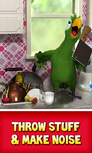 Talking Pierre the Parrot Free screenshot 2