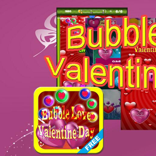 Valentine's Day Bubble Love