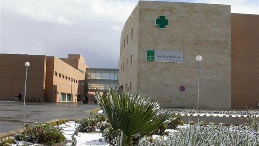 Hospital de La Inmaculada en Huércal-Overa.