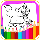 coloring cartoon for kids