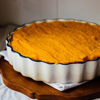 Creamy Curried French Lentil Cottage Pie.