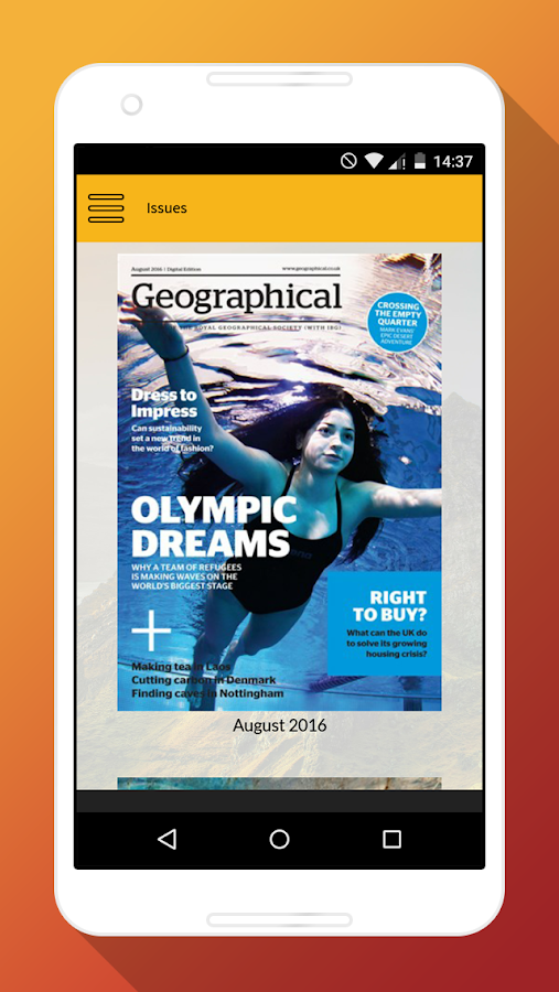 Geographical Magazine- screenshot
