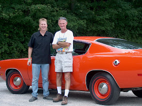 Photo: Tom Anthony and Mopar Collector Guides Rob Wolf lookin pretty chummy here. Come on Rob , you got the pics and the  story get it in the magazine!
