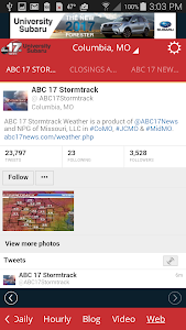 ABC 17 Stormtrack Weather App screenshot 4