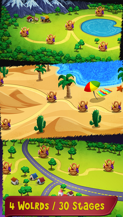 Defend the Picnic Squash Bugs- screenshot
