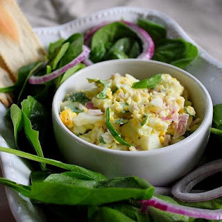 Spinach & Egg/Egg White Salad