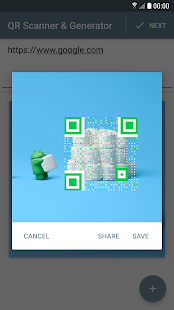 QR Generator & Scanner Screenshot