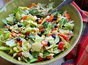 Mexican Fiesta Salad Recipe