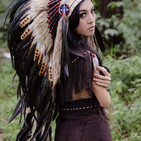 Indian Girl by Arindra Arindra - People Portraits of Women