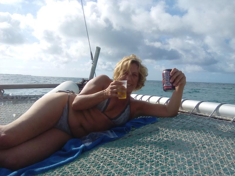 Trimarano nel mare cubano!!!!! di Nikaele