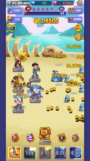 Code Triche Idle Quest Heroes APK MOD (Astuce) screenshots 5