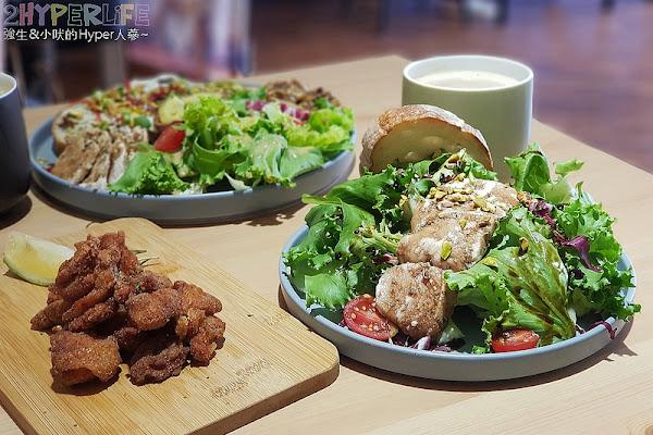 早捌 x 柳川│IG最新熱門早午餐打卡店,用餐空間寬敞明亮,菜色賣相佳但口味上還有調整空間~
