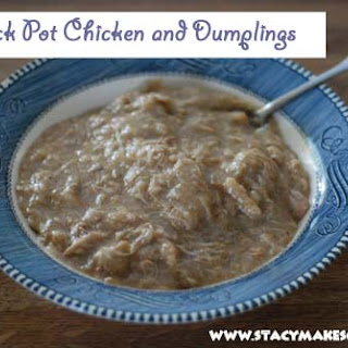 Crock Pot Chicken and Whole Wheat Dumplings