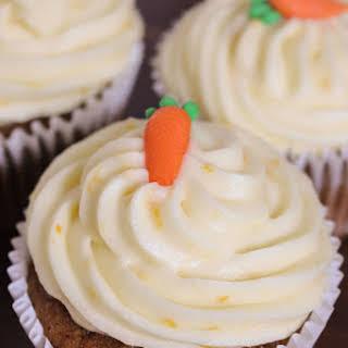 Orange Carrot Cupcakes.