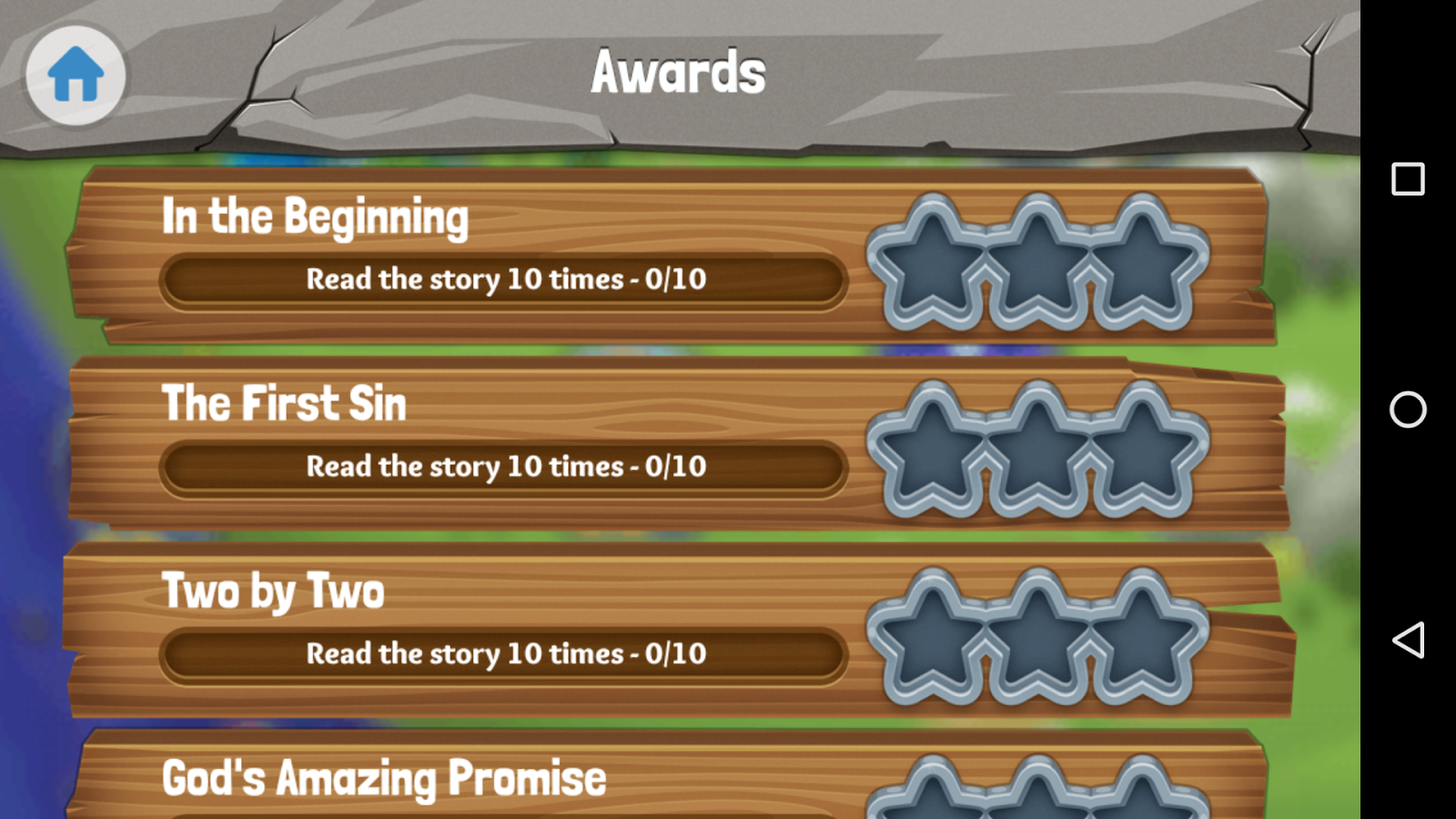 Bible App for Kids- screenshot