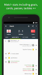 FotMob - Euro 2016 Scores Screenshot 3