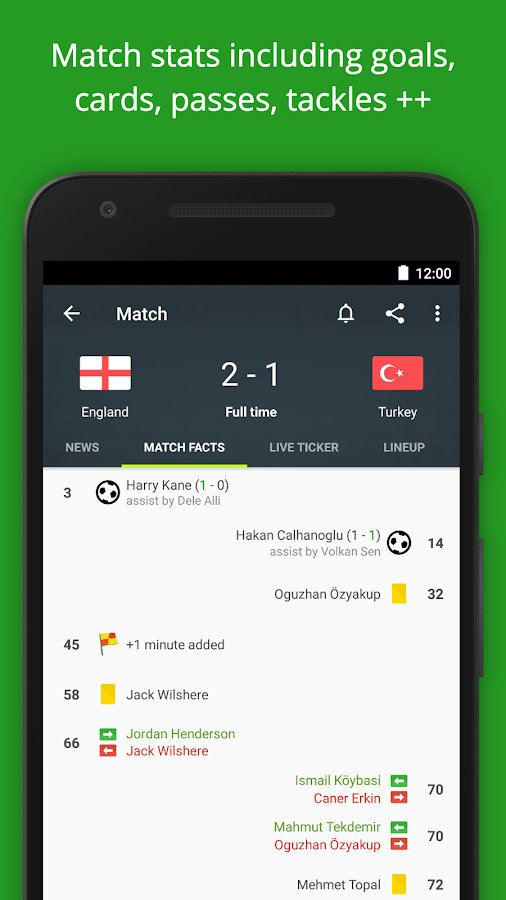 FotMob - Euro 2016 Scores- screenshot