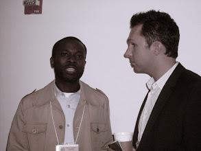 Photo: Williams Patrick Praise Jr &Jason Rzepka Vice President Of Public Affairs, MTV