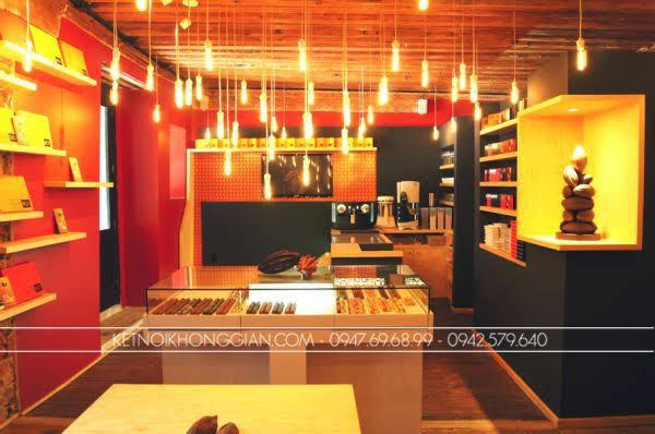 Thiết kế cửa hàng socola 7