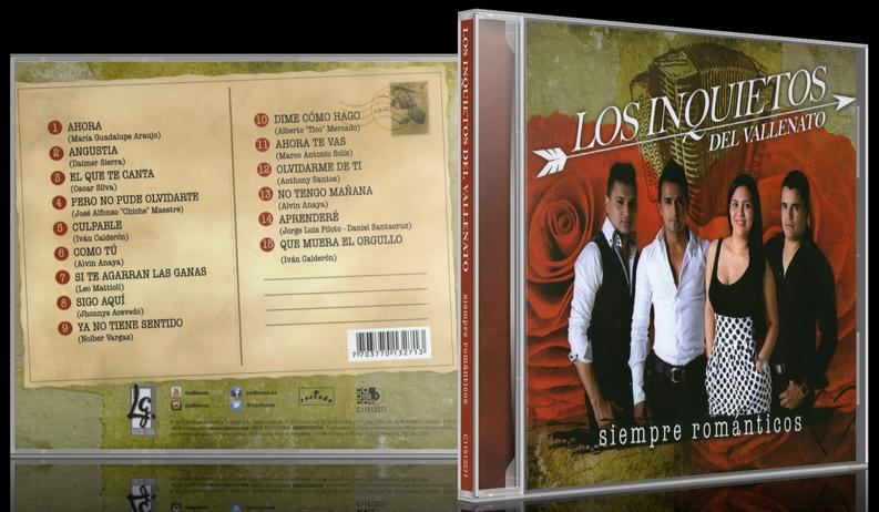 Los Inquietos - Siempre Románticos (2013) [MP3 @320 Kbps]