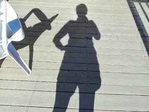 Photo: Shadow on their deck
