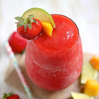 Strawberry Mango Margaritas.