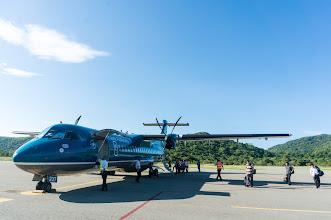 Photo: the ATR-72 airplane