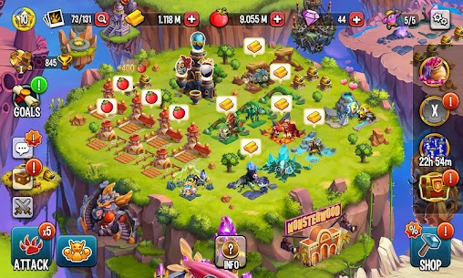 Monster Legends Mod Apk Download For Andoid and Iphone 6