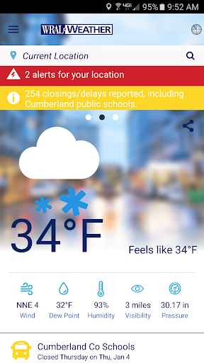 WRAL Weather  screenshots 5