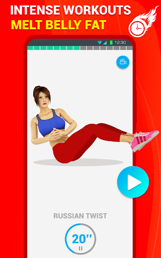 Six Pack Abs Workout 30 Day Fitness: HIIT Workouts 39.0 screenshots 10