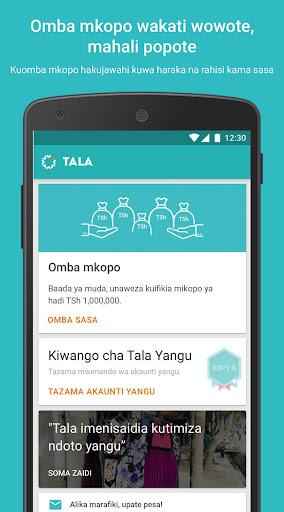 Tala Tanzania screenshot 1