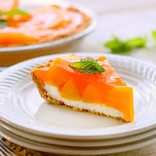 Creamy Peach Pie.